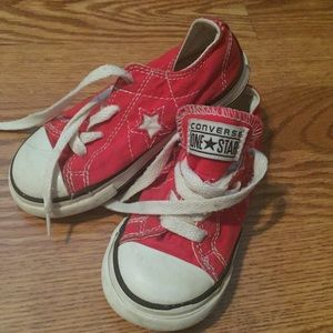 Converse One Star Toddler sneakers sz 9